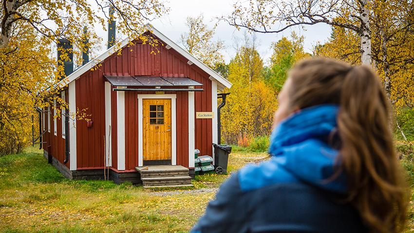 Gamla station - gäststuga, STF Saltoluokta Fjällstation
